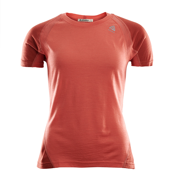 Aclima Sports T-shirt, women, red