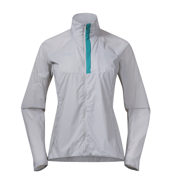 Fløyen W Jacket, vit, front